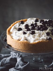 white chocolate coffee cheesecake
