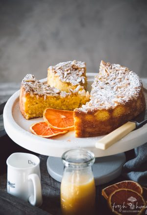 orange, ricotta & almond cake