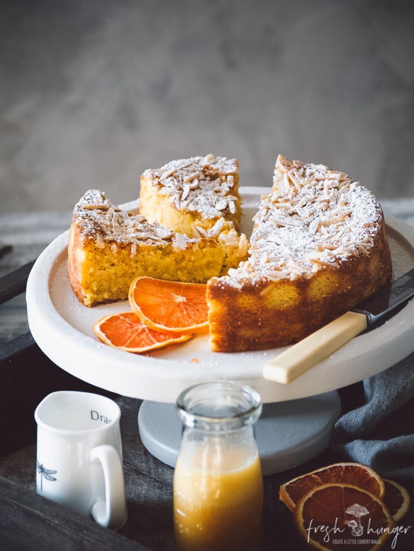 orange, ricotta & almond cake