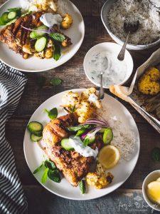 INDIAN ROAST CHICKEN & CAULIFLOWER