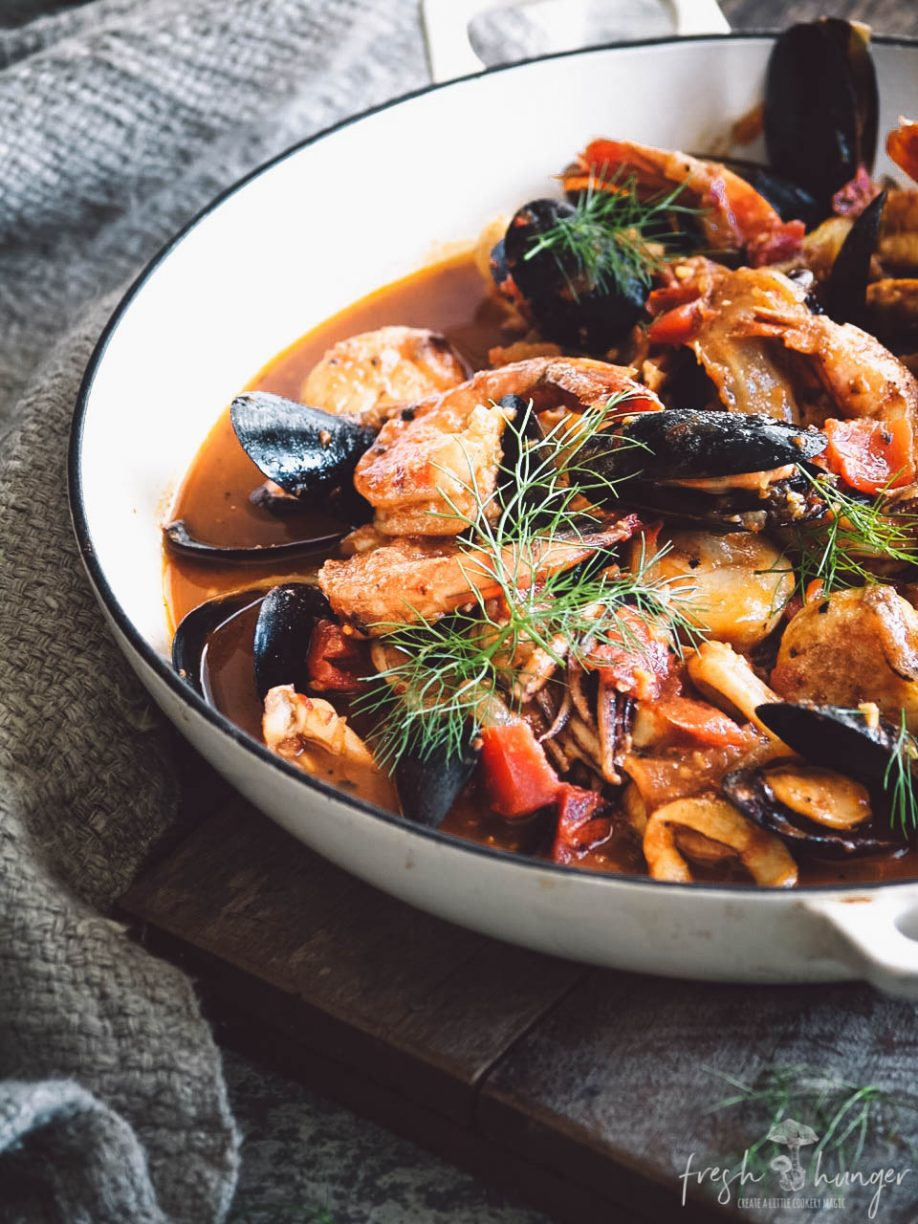 TOMATO FENNEL SEAFOOD STEW
