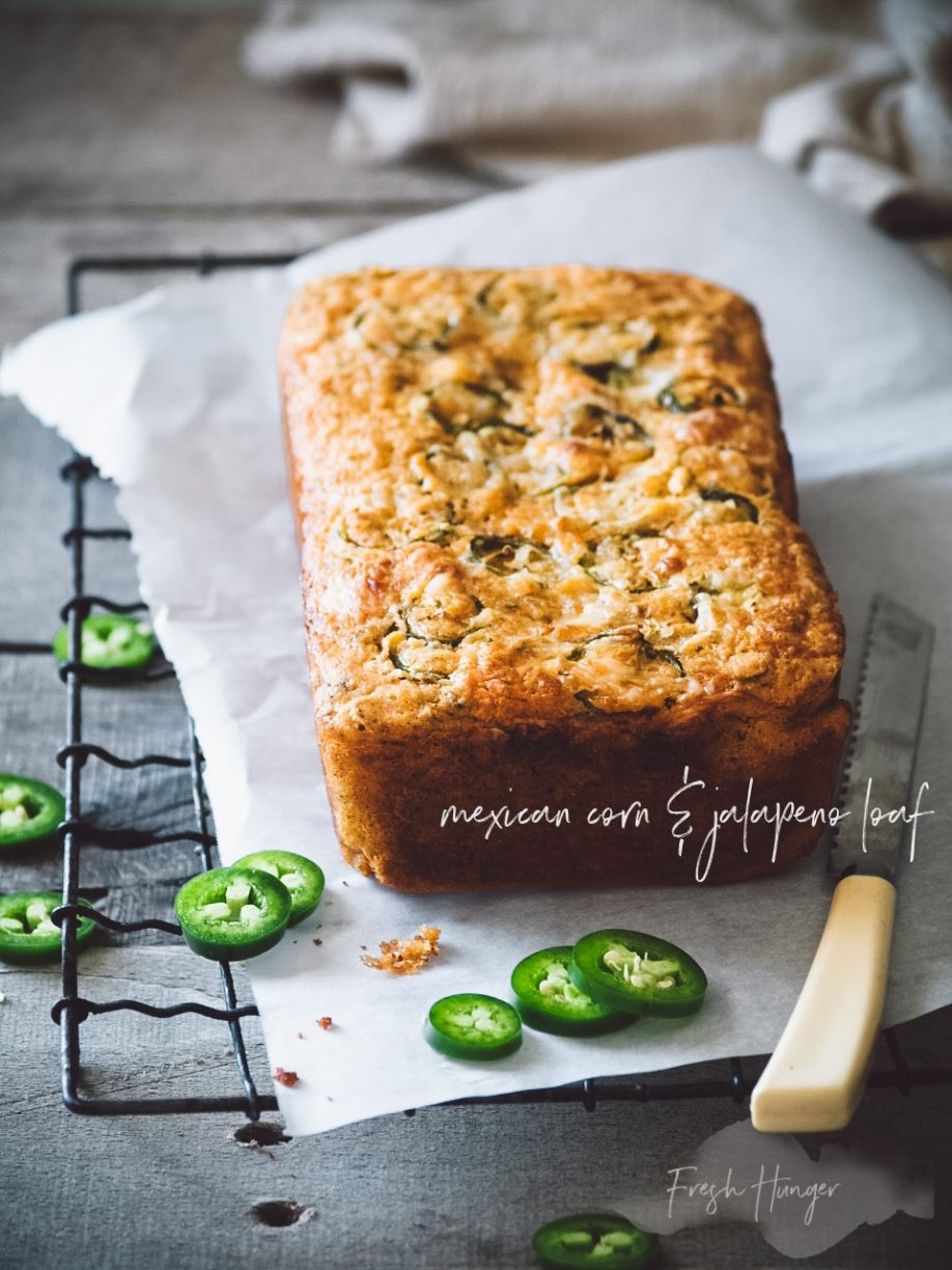 Mexican Corn and Jalapeno Loaf