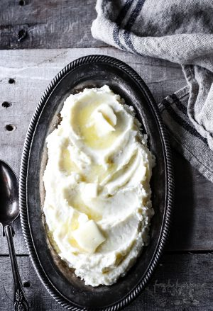 SOUR CREAM PARMESAN MASHED POTATOES