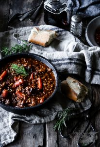 BEEF, BEER AND BARLEY STEW