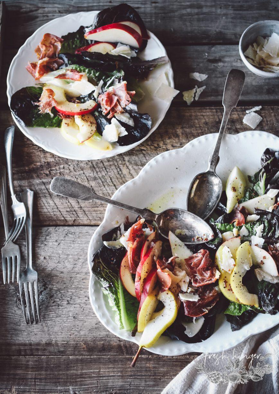 Pear and Prosciutto Salad