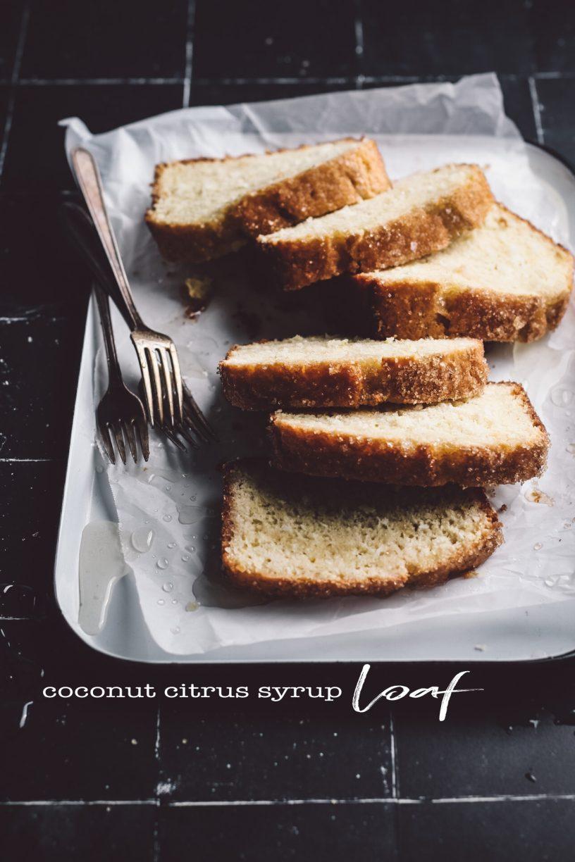 COCONUT CITRUS SYRUP LOAF