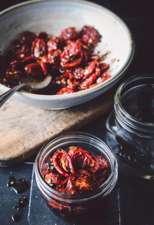 USE IN EVERYTHING ROASTED TOMATOES